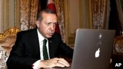 Turkey's President Recep Tayyip Erdogan, Dec. 25, 2015.