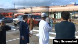 جمال مور متهم به آتش زدن مسجد شده است.