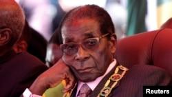 Uwahoze ari perezida wa Zimbabwe, Robert Mugabe