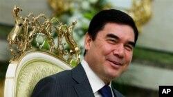 土庫曼斯坦總統別爾德穆哈梅多夫。