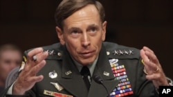 General David Petraeus during the Senate Intelligence Committee hearing on his nomination to be director of the Central Intelligence Agency, June 23, 2011