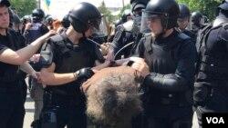 КиевПрайд-2017: без особых эксцессов, но с некоторыми задержаниями