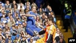 Salah satu penampilan klub Chelsea (foto: dok). Chelsea maju ke Semifinal FA Cup setelah mengalahkan Manchester United 1-0 (1/4).