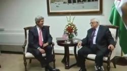 Kerry in Mideast, Looks to Jump-start Peace Talks