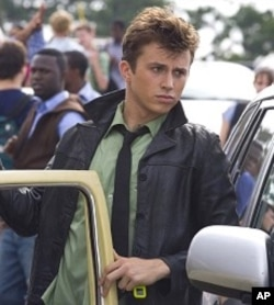 "Kenny Wormald in a scene from ""Footloose"""