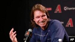 Randy Johnson es uno de los que ingresarán al Salón de la Fama del Béisbol en 2015..
