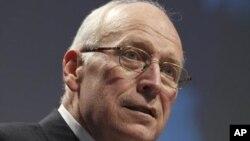 FILE - Former U.S. Vice President Dick Cheney.
