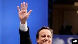 英國首相卡梅倫(資料圖片)