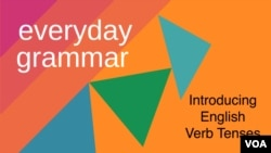 Introducing English Verb Tenses