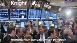 Berbagai Skandal Finansial Kikis Kepercayaan Investor - Laporan VOA
