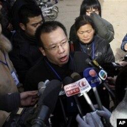赵连海2009年1月22日在接受媒体采访