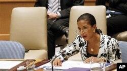 美國常駐聯合國代表賴斯(資料照片)