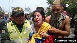 د وینزویلا د حکومت پر ضد مظاهرو کې ګڼ شمیر خلک توقیف او مجازات شوي دي.