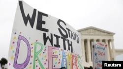 Le sort des Dreamers devant la Cour suprême