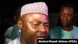 Hamidou Garba, gouverneur de la région de Niamey, Niger, le 6 septembre 2016. (VOA/Abdoul-Razak Idrissa)
