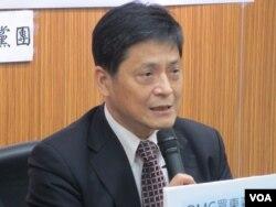 台灣在野黨台聯黨立委賴振昌。(美國之音張永泰拍攝)