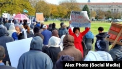 Eritrean demonstration in DC