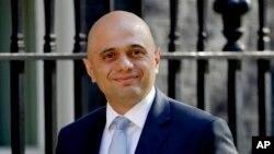 برطانیہ کے وزیر داخلہ ساجد جاوید، یکم مئی 2019