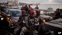 Ivory Coast ႏိုင္ငံက စစ္သားေတြ၊