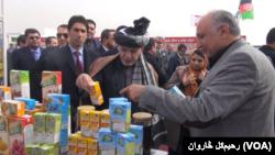 افغان ولسمشر وايي، د افغانستان د وارداتو ۸۰ فیصده په کور دننه تولیدیدلی شي.