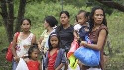 زمین لرزه شدید در مرکز فیلیپین دهها خانه را ویران و مدفون کرد