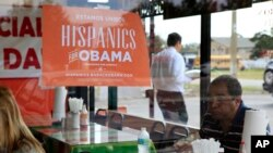 Durante las pasadas elecciones presidenciales, el presidente Barack Obama, recibió el apoyo del 71% de la comunidad hispana.