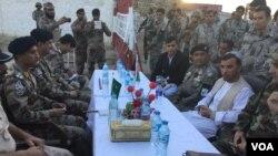 پاکستان اور افغان عہدیداروں کی 'فلیگ میٹنگ'