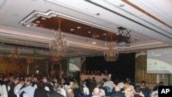第六届国际稀土工业大会会场