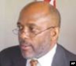 Charles Brumskine of the Liberty Party of Liberia