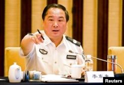 李东生在担任公安部副部长的时候在一次南京会议上讲话