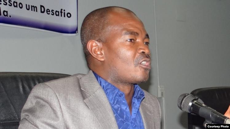 Angelo Kapwatcha, professor universitário e activista dos direitos humanos
