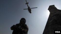 El ejército colombiano ha amentado la seguridad en la ciudad de Cartagena de Indias ante la llegada de 34 jefes de Estado.
