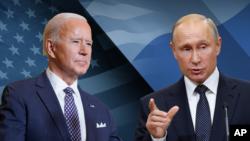 ILUSTRACIJA - Predsednici SAD i Rusije, Džo Bajden i Vladimir Putin