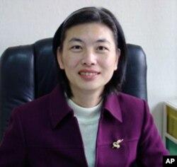 台湾交通部观光局企划组组长蔡明玲