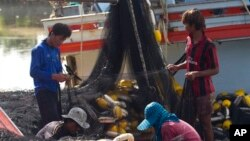 Các biện pháp chế tài Hoa Kỳ có thể áp đặt đối với Thái Lan có thể gây thiệt hại cho ngành buôn bán hải sản sang Mỹ.