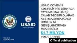 ABŞ Azərbaycana yardım ayırıb