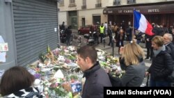 Le Petit Cambodge and Le Carillon were the first restaurants hit in the multiple attacks across Paris Friday that left more than 120 people dead and hundreds wounded, Nov. 17, 2015.