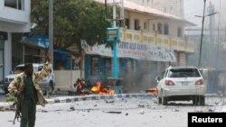 Suicide Car Bomb Near Somalia Presidential Place 07.07.2018.