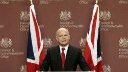 عکس آرشیوی از ویلیام هیگ وزیر امور خارجه بریتانیا