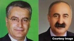 Nazmi Gur and Fehim Isik