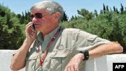 دیوید بلومر، یکی از بازداشت شدگان بریتانیایی