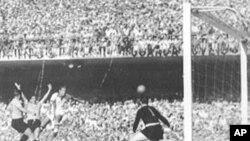 월드컵 결승전 경기중 역대 최다관중이 모인 1950년 브라질과 우르과이 경기
