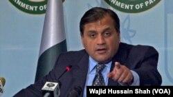 د پاکستان د بهرنیو چارو وزارت ویاند ډاکټر محمد فیصل.