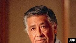 Цезарь Чавес. Снимок сделан 8 марта 1989 года в Лос-Анджелесе