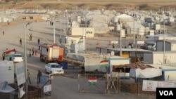 រូបឯកសារ៖ តំបន់ Kurdistan ក្នុងប្រទេសអ៊ីរ៉ាក់ មានជំរំសម្រាប់ជនភៀសខ្លួន និងជនខ្ចាត់ព្រាត់ចំនួន ៥២ ថ្ងៃទី២៨ ខែកញ្ញា ឆ្នាំ២០១៧។
