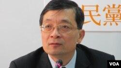 台湾蓝营亲民党立委 李桐豪(美国之音张永泰拍摄)