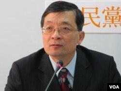 台灣藍營親民黨立委 李桐豪(美國之音張永泰拍攝)