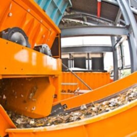 Geocycle's waste processing facilities within Holcim's plant in west Java