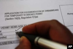 An illegal Zimbabwean immigrant applies for a residence permit to remain in South Africa for the next four years … But long queues, complicated bureaucracy and corruption are making the process difficult