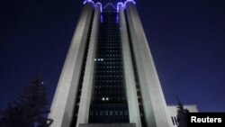 Штаб-квартира компании «Газпром»